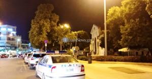 Έντονη η αστυνομική παρουσία στο κέντρο των Χανίων