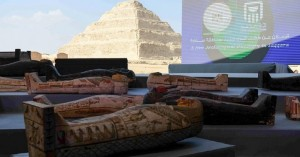 Ιστορική ανακάλυψη στην Αίγυπτο: Στο «φως» 100 άθικτες σαρκοφάγοι