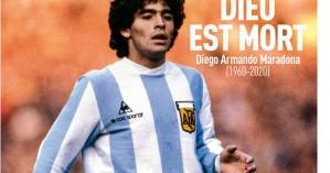 """Ντιέγκο Μαραντόνα: """"Ο Θεός είναι νεκρός"""" – Το συγκλονιστικό πρωτοσέλιδο της Equipe"""