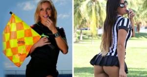 Κλαούντια Ρομάνι - Φερνάντα Κολόμπο: Φόρεσαν τη στολή του διαιτητή!