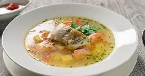 Ψαρόσουπα αυγοκομμένη με κρόκο Κοζάνης