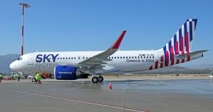 Η SKY express παραλαμβάνει το πρώτο από τα έξι ολοκαίνουργια AirbusA320neo