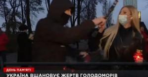 Άγνωστος με κουκούλα επιτέθηκε σε ρεπόρτερ την ώρα που ήταν ζωντανά στον αέρα