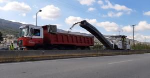 Διακοπή κυκλοφορίας στον ΒΟΑΚ στα Χανιά