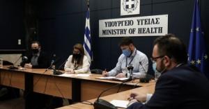 -LIVE- H ενημέρωση από τον υπουργό Υγείας
