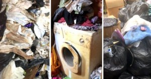 Δεν πετούσε τα σκουπίδια για χρόνια, 27 τόνοι είχαν μπλοκάρει και την τουαλέτα
