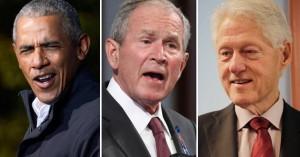 Ομπάμα, Μπους και Κλίντον έτοιμοι να εμβολιαστούν δημοσίως κατά του κορωνοϊού