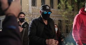 Πρώτη τοποθέτηση Νότη Σφακιανάκη μετά τη σύλληψή του-Τα 'βαλε με κράτος και δημοσιογράφους
