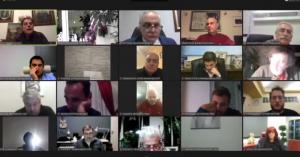 Δημοτικό Συμβούλιο Χανίων εν μέσω... τηλεκπαίδευσης
