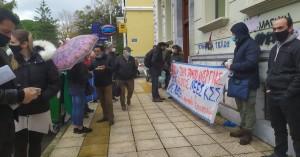 Σωματείο Επισιτισμού Χανίων: Παράσταση διαμαρτυρίας στον ΟΑΕΔ