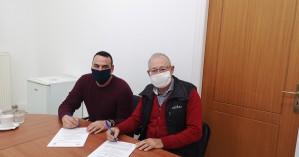 Υπεγράφη το έργο αντικατάσταστης αγωγού νερού Ασκορδαλού - Λάκκοι Μουσούρων