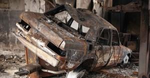 Αυτοκίνητο ''λαμπάδιασε'' στα Χανιά