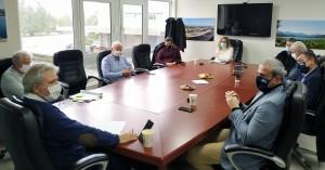 Τουρισμός και ανάπτυξη στην Κρήτη στο επίκεντρο της συνάντησης Φραγκάκη - Παπαδογιάννη