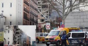 Ισχυρή έκρηξη στο κέντρο της Μαδρίτης - Τρεις νεκροί, πολλοί τραυματίες