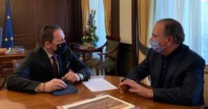 Συνάντηση με τον αν. υπουργό Εσωτερικών είχε ο δήμαρχος Ρεθύμνου