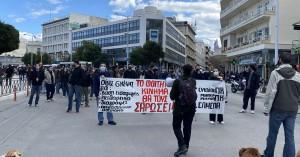 Συλλαλητήριο στο κέντρο των Χανίων:
