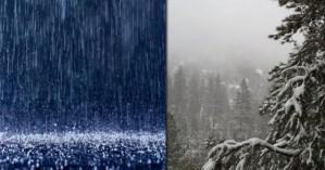 Βροχές, καταιγίδες και χιονοπτώσεις και στα ημιορεινά την Δευτέρα στην Κρήτη