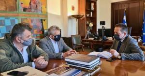 Δήμος Φαιστού: Διαδοχικές συναντήσεις στο Υπουργείου Εσωτερικών