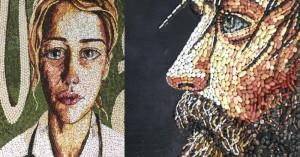 Ρεθυμνιώτισσα γιατρός δημιουργεί έργα τέχνης με….ληγμένα χάπια! (φωτο)