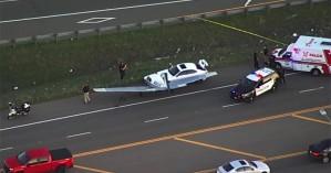 Αυτοκίνητο τράκαρε με αεροπλάνο (βίντεο)