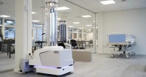 Τα πρώτα ρομπότ απολύμανσης κατά του κορωνοϊού της ΕΕ έφτασαν στα νοσοκομεία