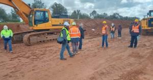 Ηχηρή παρέμβαση του ΕΚΗ στο εργοτάξιο της ΤΕΡΝΑ για τον θάνατο του άτυχου εργάτη