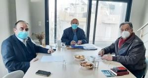 Συνάντηση Γ. Λογιάδη με τους τρίτεκνους Ηρακλείου