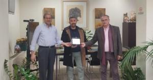 Βράβευση του Chef Γιώργου Μακρή από τον Δήμο Πλατανιά και την ΚΕΔΗΠ