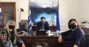 """Στον Δήμαρχο Χανίων ο Σύλλογος Μικρασιατών Νομού Χανίων """"Ο Άγιος Πολύκαρπος"""""""