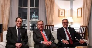 Για το Κυπριακό και για την πενταμερή διάσκεψη