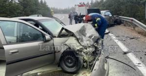 Λαμία: Σοβαρό τροχαίο με τραυματίες