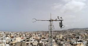 Μικρομετεωρολογικοί πύργοι μετρούν τις εκπομπές διοξειδίου του άνθρακα (φωτο)