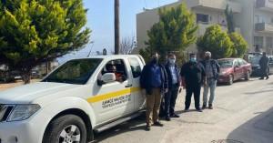 Αγκαλιάστηκε το πιλοτικό πρόγραμμα αποκομιδής πόρτα – πόρτα του Δήμου Μαλεβιζίου