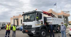 Ενίσχυση και εκσυγχρονισμός του στόλου οχημάτων του  Δήμου Πλατανιά