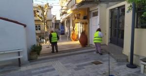 Δήμος Μαλεβιζίου: Εκτεταμένες επιχειρήσεις καθαριότητας