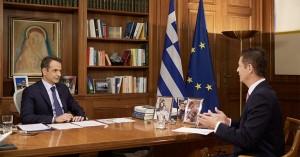 Mητσοτάκης: Έρχεται συνάντηση με Ερντογάν- Άψογος ο χειρισμός Δένδια