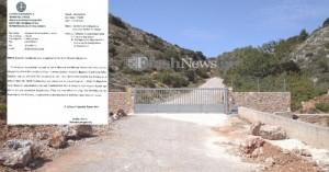 Π.Ε. Χανίων σε Μονή Γουβερνέτου: Ο δρόμος να ανοίξει άμεσα (έγγραφο)