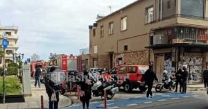 Συναγερμός στην Πυροσβεστική Χανίων από πυρκαγιά σε γραφείο (φωτο)