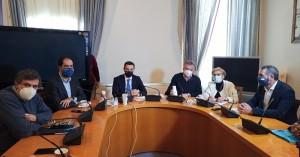 Συναντήσεις του Υπουργού Περιβάλλοντος και Ενέργειας στο Ρέθυμνο για τους δασικούς χάρτες