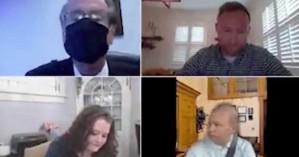 Απίστευτο zoom meeting: Γερουσιαστής βάζει ψεύτικο φόντο για να μην φανεί ότι οδηγεί (vid)