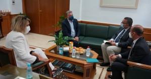 Συνάντηση Περιφερειάρχη με τον αν.αντιπρόσωπο της Ύπατης Αρμοστείας του ΟΗΕ στην Ελλάδα