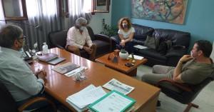 Συνάντηση δημάρχου Αγ.Νικολάου με δικηγόρους ιδιοκτητών έκτασης ανατολικά του Νοσοκομείου