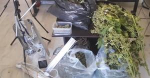 Πάνω από 2 κιλά κάνναβης σε διάφορες μορφές βρέθηκαν στο σπίτι Χανιώτη (φωτο)