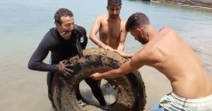 Χανιά: Εθελοντές καθάρισαν το βυθό στο Καλάμι (φωτο)