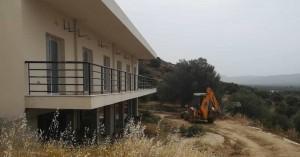 Ξεκίνησαν οι εργασίες αποπεράτωσης του αύλειου χώρου στο Κουκουράκειο Γηροκομείο