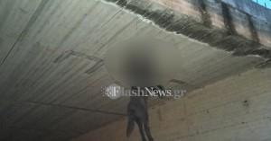 Στα δίχτυα των αρχών ύποπτος για τον απαγχονισμό σκύλου στη γέφυρα των Νεροκούρου Χανίων