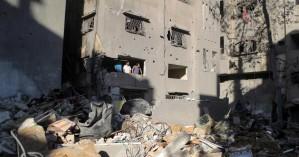 Λωρίδα της Γάζας: Πολυώροφο κτίριο τηλεοπτικών δικτύων κατέρρευσε από ισραηλινές βόμβες