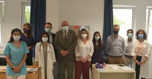 Λειτουργία νέου εμβολιαστικού κέντρου στην Ιατρική Σχολή του Πανεπιστήμιου Κρήτης