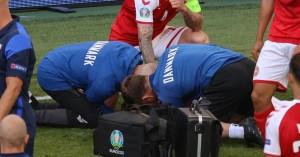Euro 2020: Κατέρρευσε ο Κρίστιαν Έρικσεν μέσα στο γήπεδο! (βίντεο)