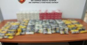 Σύλληψη 68χρονου για λαθραία καπνικά προϊόντα στο Ηράκλειο (φωτο)
